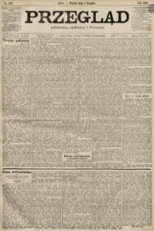 Przegląd polityczny, społeczny i literacki. 1899, nr174