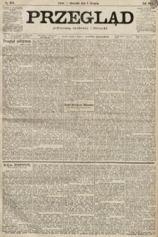 Przegląd polityczny, społeczny i literacki. 1899, nr176