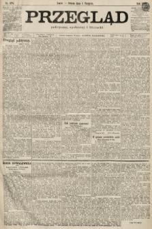Przegląd polityczny, społeczny i literacki. 1899, nr178