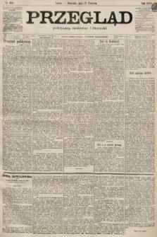 Przegląd polityczny, społeczny i literacki. 1899, nr185