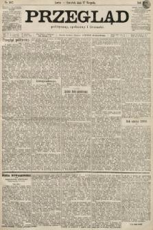Przegląd polityczny, społeczny i literacki. 1899, nr187