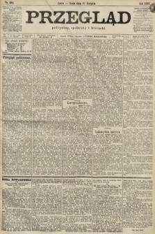 Przegląd polityczny, społeczny i literacki. 1899, nr198