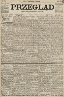 Przegląd polityczny, społeczny i literacki. 1899, nr199