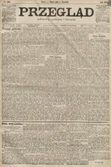 Przegląd polityczny, społeczny i literacki. 1899, nr206