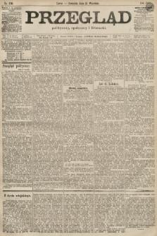 Przegląd polityczny, społeczny i literacki. 1899, nr216