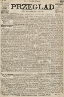 Przegląd polityczny, społeczny i literacki. 1899, nr217