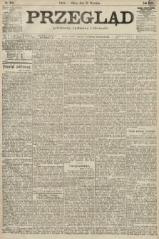Przegląd polityczny, społeczny i literacki. 1899, nr218