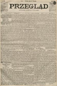 Przegląd polityczny, społeczny i literacki. 1899, nr219