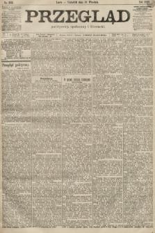 Przegląd polityczny, społeczny i literacki. 1899, nr222
