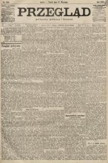 Przegląd polityczny, społeczny i literacki. 1899, nr223