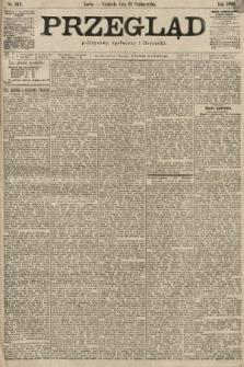 Przegląd polityczny, społeczny i literacki. 1899, nr242