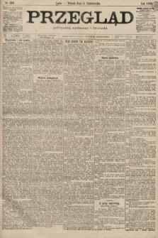 Przegląd polityczny, społeczny i literacki. 1899, nr249