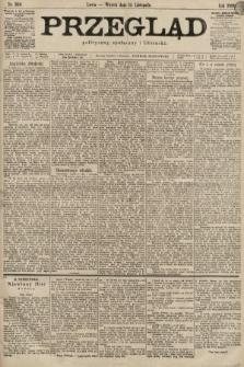Przegląd polityczny, społeczny i literacki. 1899, nr260