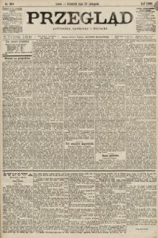 Przegląd polityczny, społeczny i literacki. 1899, nr268