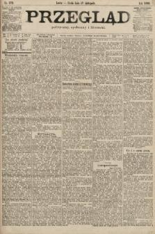 Przegląd polityczny, społeczny i literacki. 1899, nr273