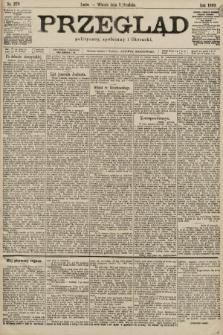 Przegląd polityczny, społeczny i literacki. 1899, nr278