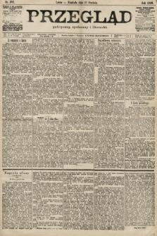 Przegląd polityczny, społeczny i literacki. 1899, nr282