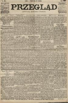 Przegląd polityczny, społeczny i literacki. 1899, nr292