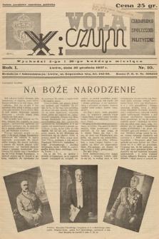 Wola i Czyn : czasopismo społeczno-polityczne. 1937, nr 10