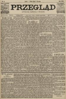 Przegląd polityczny, społeczny i literacki. 1900, nr4