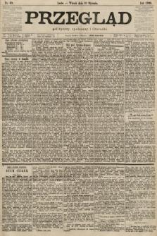 Przegląd polityczny, społeczny i literacki. 1900, nr23