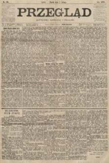 Przegląd polityczny, społeczny i literacki. 1900, nr26