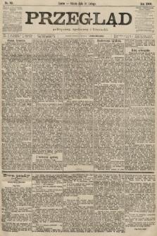 Przegląd polityczny, społeczny i literacki. 1900, nr32