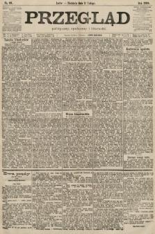Przegląd polityczny, społeczny i literacki. 1900, nr33