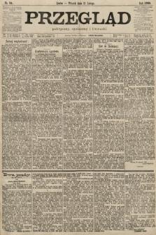 Przegląd polityczny, społeczny i literacki. 1900, nr34