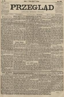 Przegląd polityczny, społeczny i literacki. 1900, nr38