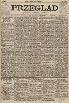 Przegląd polityczny, społeczny i literacki. 1900, nr44