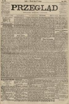 Przegląd polityczny, społeczny i literacki. 1900, nr46