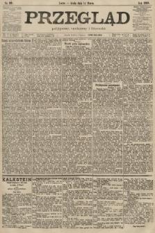 Przegląd polityczny, społeczny i literacki. 1900, nr59