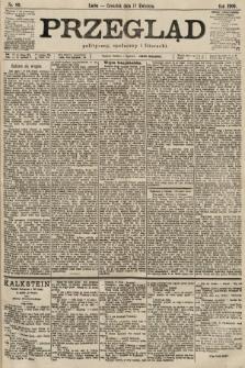 Przegląd polityczny, społeczny i literacki. 1900, nr89