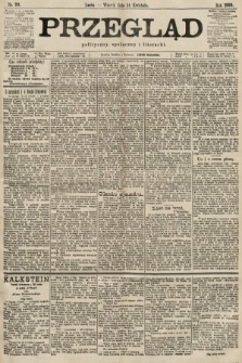 Przegląd polityczny, społeczny i literacki. 1900, nr93