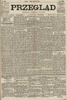 Przegląd polityczny, społeczny i literacki. 1900, nr120