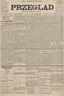 Przegląd polityczny, społeczny i literacki. 1901, nr20