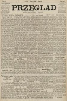 Przegląd polityczny, społeczny i literacki. 1901, nr27