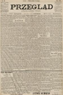Przegląd polityczny, społeczny i literacki. 1901, nr28