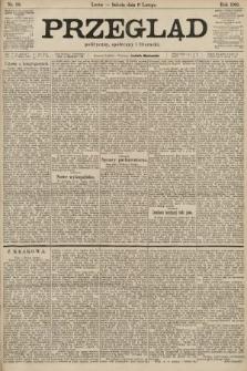 Przegląd polityczny, społeczny i literacki. 1901, nr33