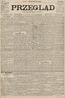 Przegląd polityczny, społeczny i literacki. 1901, nr41