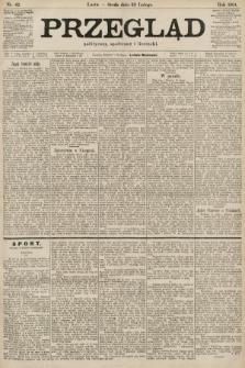 Przegląd polityczny, społeczny i literacki. 1901, nr42