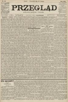 Przegląd polityczny, społeczny i literacki. 1901, nr49