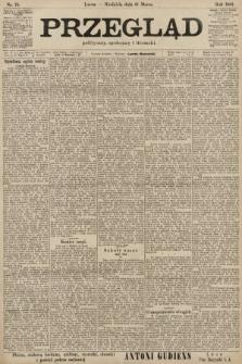 Przegląd polityczny, społeczny i literacki. 1901, nr75