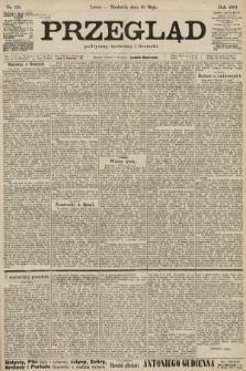 Przegląd polityczny, społeczny i literacki. 1901, nr115