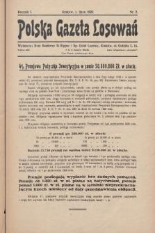 Polska Gazeta Losowań. 1928, nr2
