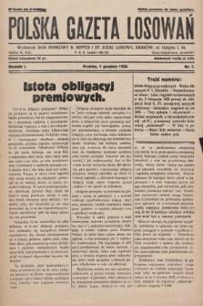 Polska Gazeta Losowań. 1928, nr7