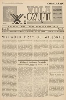 Wola i Czyn : czasopismo społeczno-polityczne. 1938, nr 13