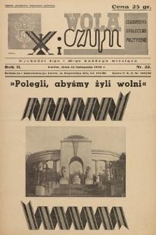 Wola i Czyn : czasopismo społeczno-polityczne. 1938, nr 22