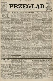 Przegląd polityczny, społeczny i literacki. 1901, nr170